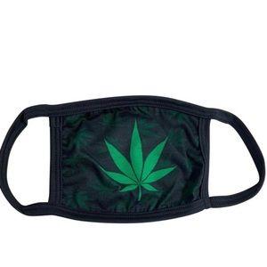 Other - 420 Green Leaf Stretch face mask
